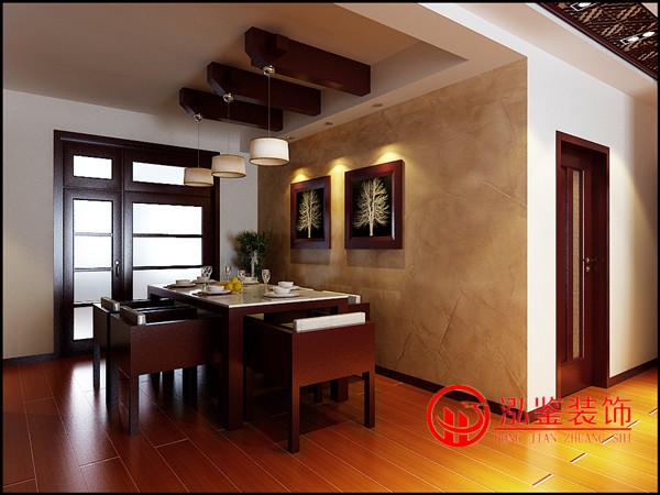 合肥现代中式风格装修客厅效果图