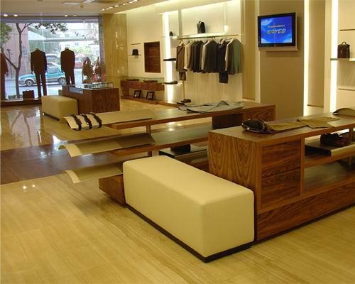 合肥 时尚男装店铺装修设计案例,更多关于服装店、女装店、